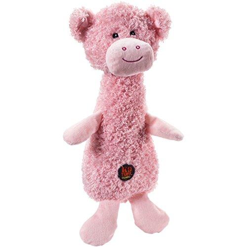 CHARMING Pet Scruffles Pig Plush Dog Toy, Small