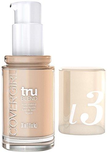 COVERGIRL Trublend Liquid Makeup Natural Ivory L3 1 Fl Oz, 1.000-Fluid Ounce