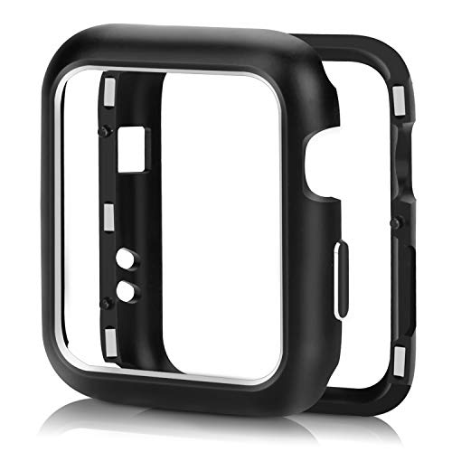 Compatible Apple Watch Case 42mm, OpaceLuuk Aluminum Magnetic Frame Watch Case Protective Cover iWatch Series 1/2/3, Black