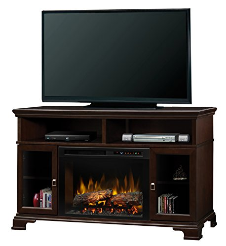 Ceramic Console (Dimplex Brookings Media Console Electric Fireplace, Small, Espresso)