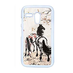 Generic Cute Phone Cases For Girl Design With Asian Horse Artists For Moto G Choose Design 6