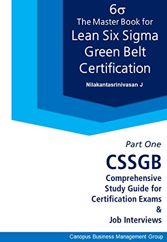 Amazon.com: The Master Book for Lean Six Sigma Green Belt ...