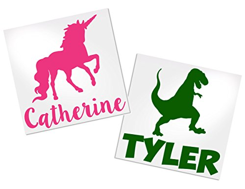 Animal Decals for Tumblers, Your Choice of Animal, Color & Name | Decals by ADavis