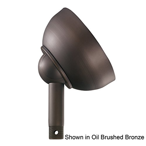 337005OI Ceiling Fan Sloped Ceiling Adapter, Old Iron Finish - Iron Slope Ceiling Adapter