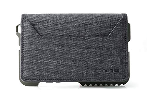 Dango T01 Tactical EDC Wallet - Made in USA - Genuine Leather, Multitool, RFID Block (Spec Ops Bifold - Black/Olive Drab Green + MT02 Multi-Tool)