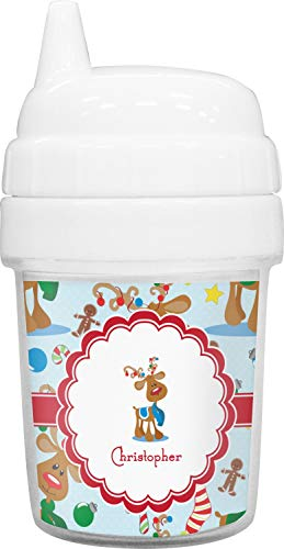 Reindeer Baby Sippy Cup (Personalized) ()