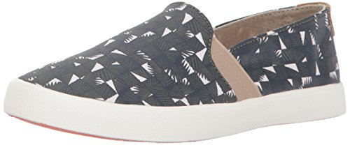 Roxy Women's Atlanta Slip on Shoe Fashion Sneaker, Olive, 7 M US