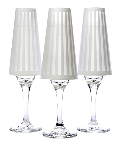 His Tux Champagne Glass Shades product image
