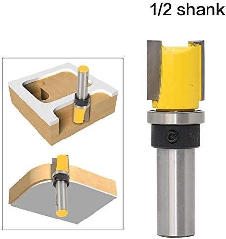 """Shank Router Bit 1pc Muster Trim Vorlage Trim Fräser, 3/4"""" x 3/4"""" - 1/2"""" Schaft zur Holzschneider, Zapfenschneider for Holzbearbeitungswerkzeuge Fräswerkzeug bit"""