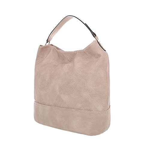 femme Ital Design porter Sac à pour Rosa à l'épaule Beige wTqaHTAtP