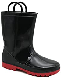 Kids Toddler Rain Boots Assorted Colors