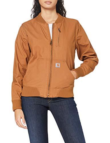 Carhartt Women's Crawford Bomber Jacket, Brown, Medium