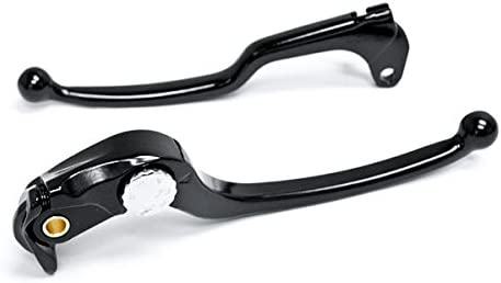 Clutch Hand Lever Black Replacement Set For 2006-2010 Suzuki GSXR 600 Krator Brake