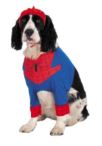 Spider-Man Pet Pet Pet Costume - Medium - Pet Spiderman Costumes