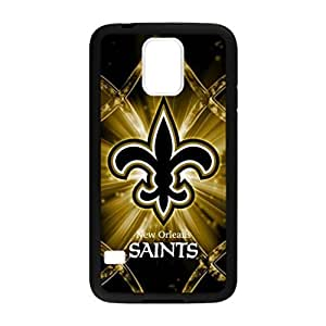 Best-Diy New Orleans Saints Pattern Image case cover Hard Plastic case cover for j63ToY47myK Samsung Galaxy S5 i9600 Regular