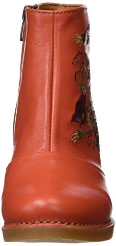 Kunst Kvinder Harlem Kort Skaft Støvler Orange (stjerne Petalo 1063) ltV55oi46b