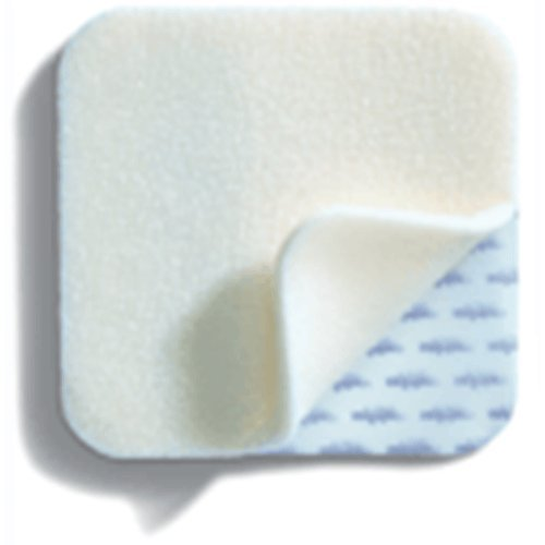 Mepilex - Soft and conformable foam dressing: 6˝ x 6˝ (15 x 15 cm), 5/box