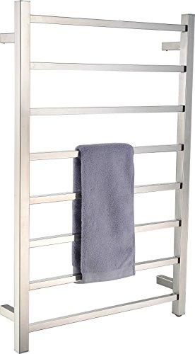 [해외]닦은 니켈에있는 종 8 막대기 전기 수건 따 뜻한 물/Bell 8-Bar Electric Towel Warmer in Brushed Nickel