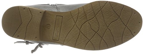 Tom Tailor Ladies 4896103 Stivali Blu (blu)
