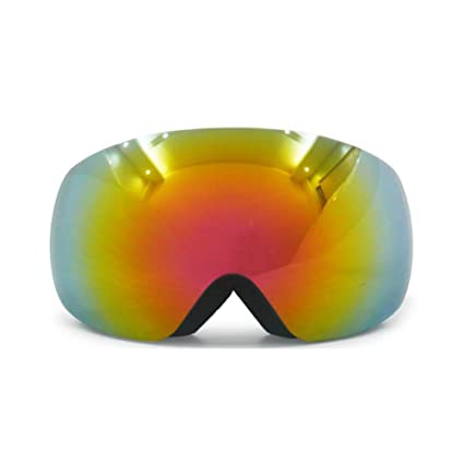 703cca12178b Image Unavailable. Image not available for. Color  He-yanjing Snowboarding  Goggle , Anti-Fog UV Protection Goggles ,Ski Snowboarding Goggles