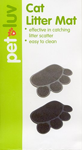 Paw Print Shaped Cat Litter Mat - 23.5