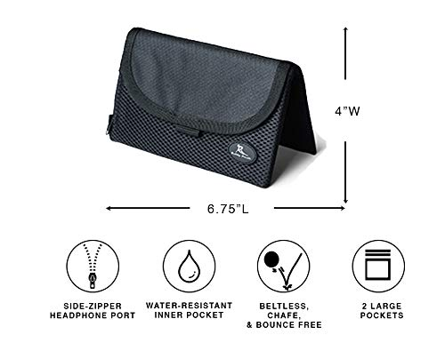Running Buddy [Highly Rated XL Buddy Pouch - Black by Running Buddy (Image #1)