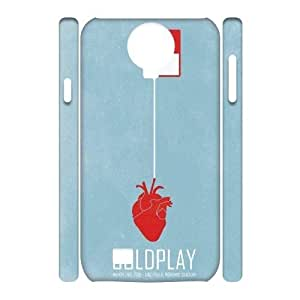 Custom Coldplay I9500 3D Cover Case, Coldplay Customized 3D Phone Case for Samsung Galaxy S4 I9500 at Lzzcase