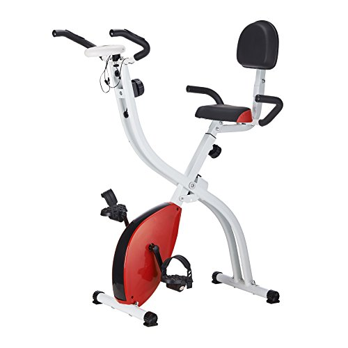 Bike Folding Stand (Pinty Folding Abdominal 8 Level Magnetic Upright Exercise Bike)