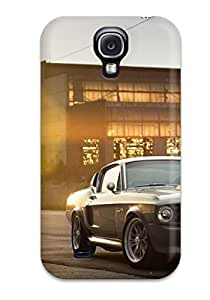 Tpu Case Cover For Galaxy S4 Strong Protect Case - Sun Is Shining On The Car Design