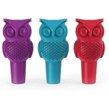 """TRUE Hoot Owl Bottle Stopper, 6.25"""", Multicolor"""
