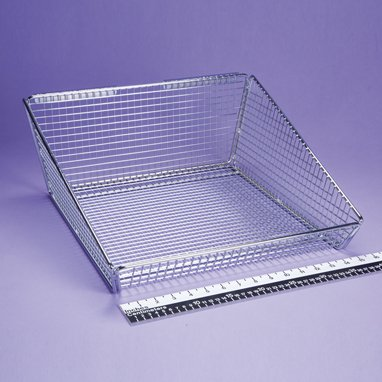 Devine Medical Hanging Wire Basket, 18x7.5x18