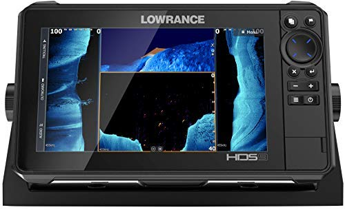 Lowrance HDS LIVE 9 Sonar Fish Finder with Active Imaging 3-in-1 Transducer