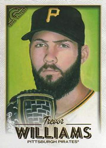 2018 Topps Gallery Baseball #60 Trevor Williams Pittsburgh Pirates Official MLB Trading Card
