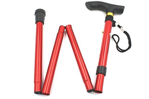 [보행보조재활지팡이] 접이식 지팡이 알루미늄 경량 콤팩트 스틱 5단계 조절