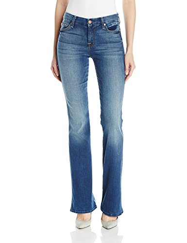 7 For All Mankind Women's Kimmie Bootcut, Rich Coastal Blue, 28 by 7 For All Mankind