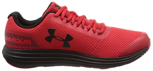 Under Armour Boys' Grade School Surge RN Sneaker Red (600)/Black 4 by Under Armour (Image #10)