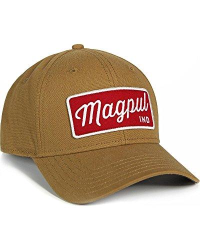 Magpul Men's Script Mid Crown Snapback Cap OS, Tan by Magpul