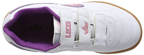 Lico BERNIE V - Zapatillas Niñas Blanco (Weiss/lila/rosa)