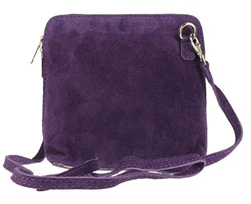 Girly Handbags - Bolso bandolera Mujer morado oscuro