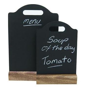 lavagna per menu formato a5 - codice 27026: amazon.it: casa e cucina - Lavagne Per Cucina