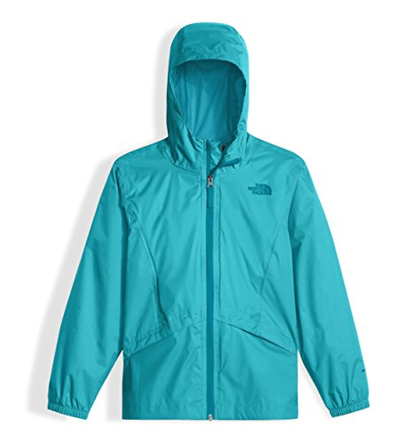The North Face Girl's Zipline Rain Jacket - Blue Curacao - XL by The North Face