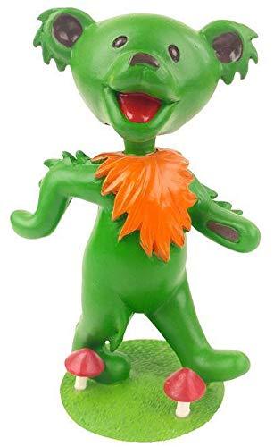 Kollectico DB6G Grateful Dead Dancing Bear Bobblehead, Green