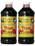 Dynamic Health 100% Pure Organic Certified Tart Cherry Juice Concentrate, 16-Ounce (32-Ounce)