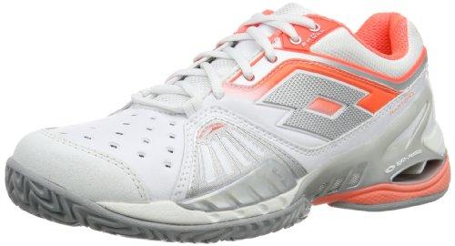 Carr wht Ultra Mujer Zapatillas Clay W Lotto Goma Tenis Raptor Weiß fl De Iv Blanco 7n4pxU6S