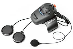 Sena SMH5-02 Low-Profile Motorcycle and Scooter Bluetooth Headset / Intercom for Full-Face Helmets (Single)