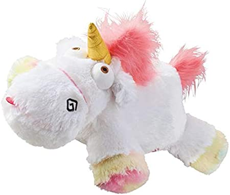 New 2019 Despicable Me Plush Agnes Minions Cute Fluffy Stuffed Pink Unicorn 7""