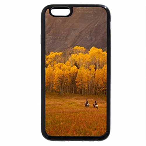 iPhone 6S / iPhone 6 Case (Black) Taking a Ride in the Country of Colorado