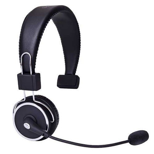 BLUE TIGER Elite Premium Bluetooth Headset - Retail Packaging - Black