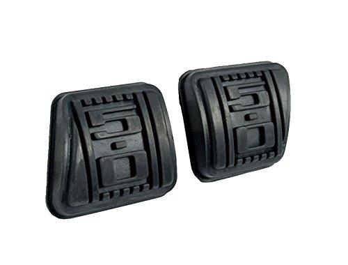 Clutch Pedal Set (Scott Drake D9ZZ-2457624-50 Brake Pad and Clutch Pedal Set)