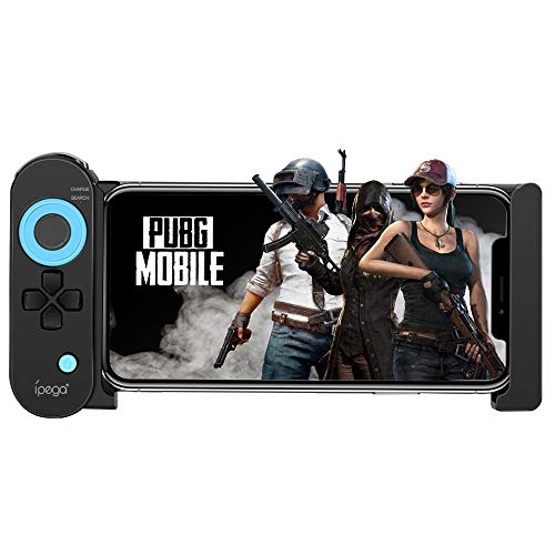 Mobile Game Controller, PowerLead PG-9120 Wireless Gamepad Bluetooth Game Controller Joystick for PUBG Compatible iOS Android Mobile Phone Tablet/Smartphones